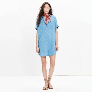 Courier denim dress
